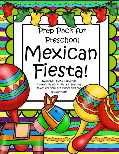 cinco de mayo activities for preschoolers cinco de mayo theme pack for preschool 457
