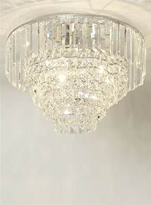 Bhs ceiling lights chrome paladina flush