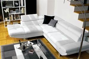 canape conforama loft photo 5 10 canape en cuir blanc With canapé d angle cuir blanc conforama