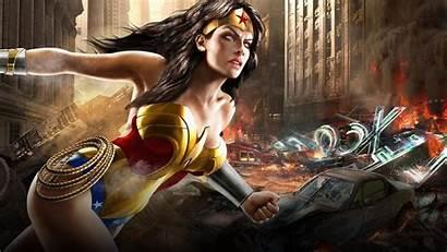 Wonder Woman Dc Comics Fantasy Games Superheroines