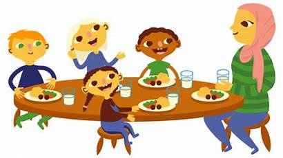 Preschool Lunch Clipart Cartoon Daycare Clip Child