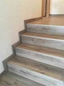 recouvrir un escalier en bois avec du lino 20171006022020 With peindre des escalier en bois 5 parquet tecknico le parquet autrement vendee