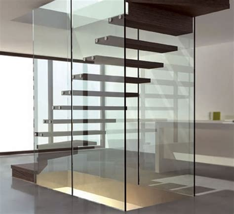 Exterior Staircase Design Ideas by Glass And Stair Floating Design Image Photos Pictures