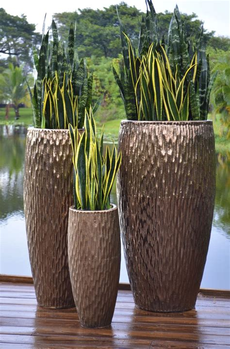 outdoor vase planters 26 best new trends in garden containers images on