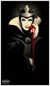 Evil Queen (Snow white); Artist: Belldandies | Disney ...