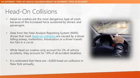 Different Types Of Collisions Result In Different Injuries?