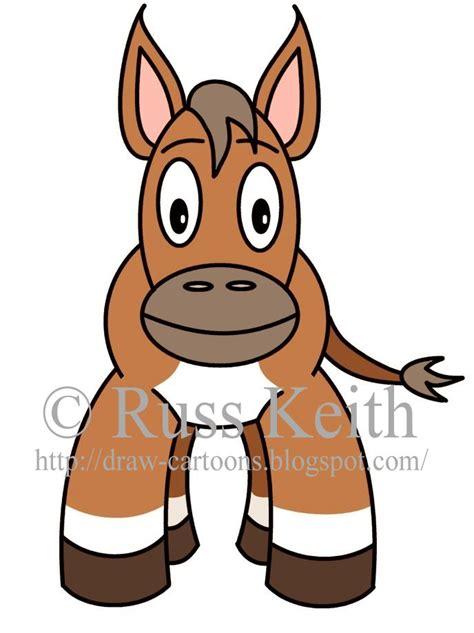 draw cartoons   draw  donkey