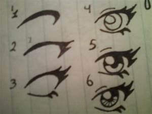 Anime eyes for beginners by LadyLaveen on DeviantArt