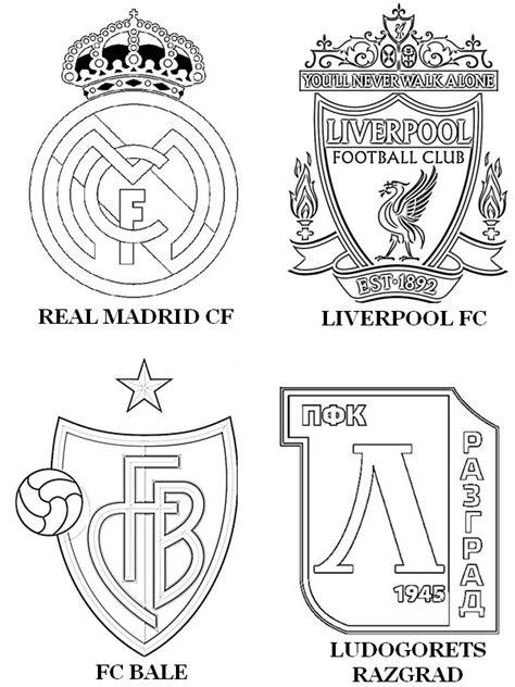 Kleurplaat Bayermunchen by Dibujo Para Colorear Uefa Chions League 2015 Grupo B