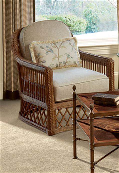 trellis wicker chair ottoman biltmore