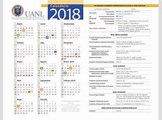 Calendario UANL