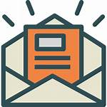 Newsletter Icon Icons Views Business مثلث الامان