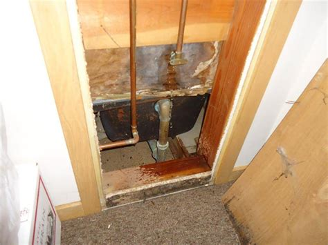 inspect   house part  plumbing