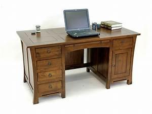Meuble Bureau But : bureau meuble bois bureau angle lepolyglotte ~ Teatrodelosmanantiales.com Idées de Décoration