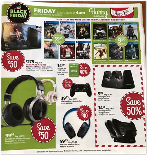 Aafes Exchange Black Friday 2017 Ads, Deals And Sales