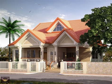 elevated bungalow attic home design house plans 76626