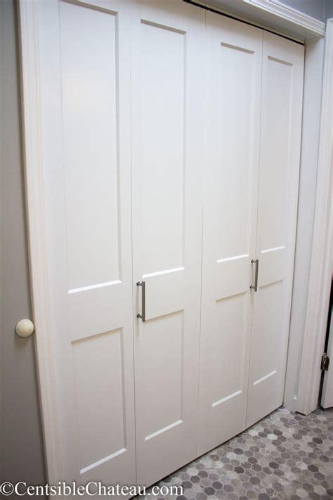 Replace Folding Closet Doors by How To Easily Install Bi Fold Closet Doors In Your Closet