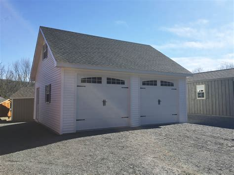 Built Onsite Custom Amish Garages In Oneonta, Ny Amish