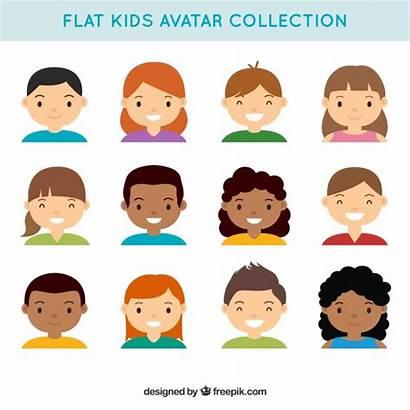 Avatars Vector Lovely Children Avatar Nice Freepik