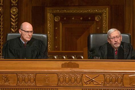 district judge hears supreme court case