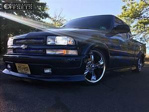 2000 Chevrolet S10 Ridler Style 695 Belltech Lowered 4f 6r