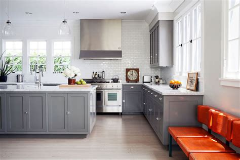 grey shaker cabinets kitchen gray shaker kitchen cabinets contemporary kitchen