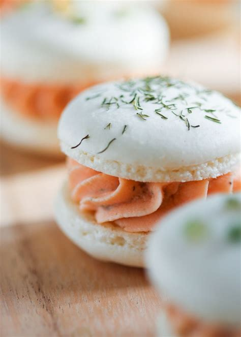 salmon canapes smoked salmon macarons thirsty for tea foodie
