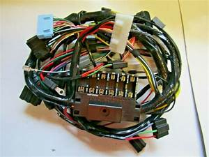 Mopar 71 Demon Duster Ralley Gauge Dash Wiring Harness