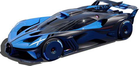 Bugatti says the bolide is the most extreme, uncompromising, fastest and lightest car it has ever made. BUGATTI Bolide