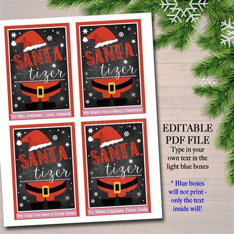 editable christmas soap tags printable holiday soap