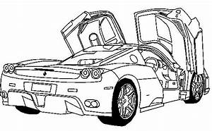 Deluxe Ferrari Sport Car Coloring Page Ferrari Car