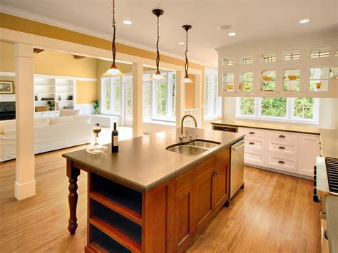 House Kitchen Breakfast Room And Deck by Another Great Room House On Bainbridge Island Wa Once