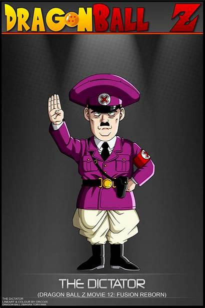 Dragon Ball Dictator Deviantart Characters Dbcproject Anime