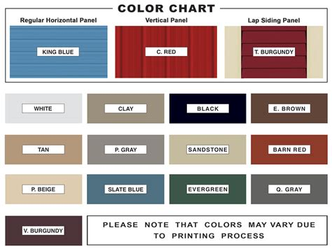metal colors customize your metal building colors create your