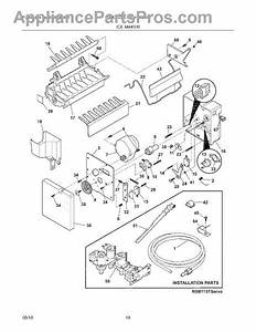 Parts For Frigidaire Fghc2335le0  Ice Maker Parts