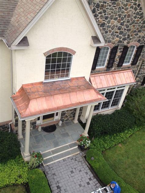 concave standing seam copper metal roof  flat seam soldered top copper roof idea metal