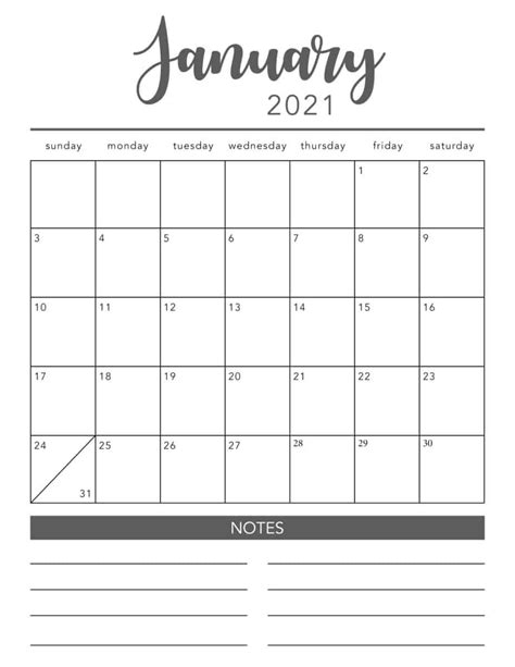 I am pretty sure you are going to love the bonus weekly planner that i have added along. 2021 Printable Calendar Pages   Free Printable Calendar