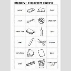 Classroom Objects  Worksheet 1 #  English Step By Step 1st Graders  Pinterest Worksheets