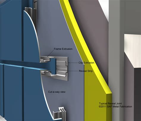 series  rainscreen drained  ventilated saf southern aluminum finishing