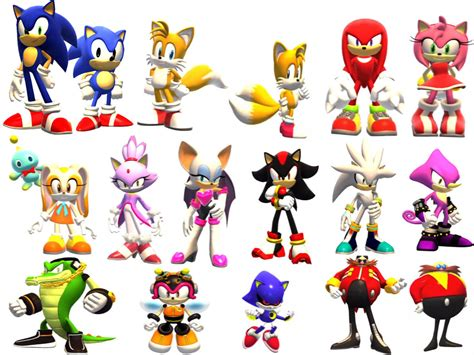 What animals are all these Sonic characters? - Science ...