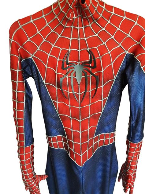 replica spider man  cosplay professional suit ebay