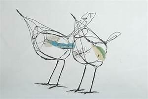 Jill Walker  Wire Birds