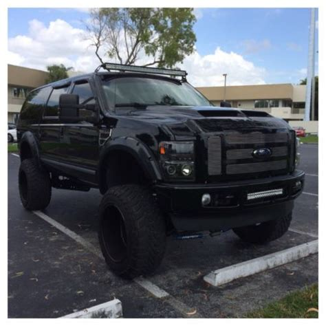 buy   ford excursion limited  diesel  miles