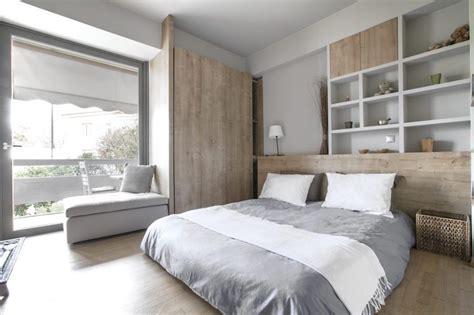 chambre gris perle et blanc peinture gris perle et meubles blanc cassé en déco mini studio