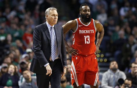 It looks like James Harden and his coach to be on same ...