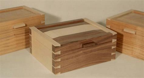 dovetail jewelry box plans wood joinery wooden