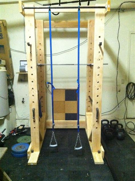 diy power rack 79 best images about garage on home gyms