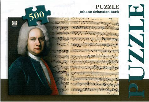 Johann Sebastian Bach Puzzle Museumsshop Bachhaus Eisenach