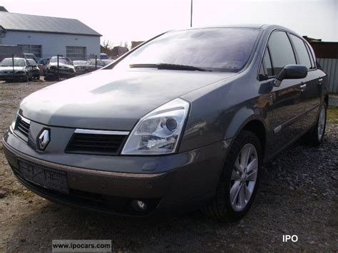 2005 renault vel satis 3 0 dci full car photo and specs