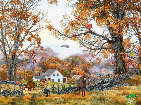 autumn life screensaver  windows  autumn screensaver